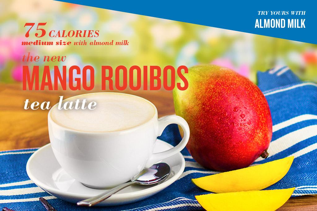 Mango Rooibos Tea Latte