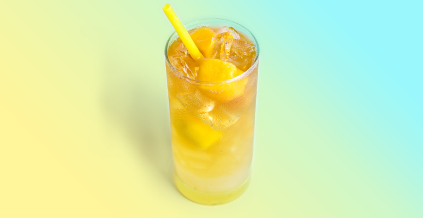 Mango Ginger Iced Tea Lemonade
