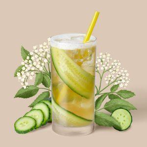 blenz-coffee-cucumber-elderflower-shaken-iced-teas-garden-series