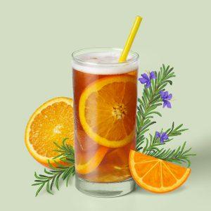 blenz-coffee-tangerine-rosemary-shaken-iced-teas-garden-series